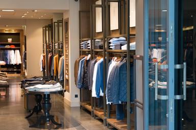 Lojas e departamentos de vendas